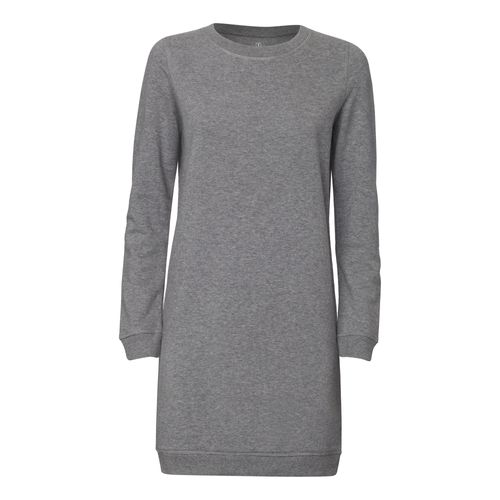ThokkThokk Sweatshirtkleid Mid Heather Grey made of organic cotton // Organic and Fair