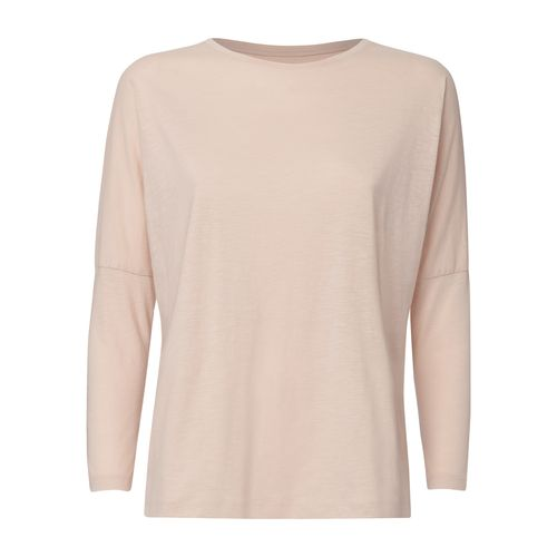 ThokkThokk Woman Drop-Shoulder Longsleeve Faded Nude made of 100% organic cotton // Organic and Fair