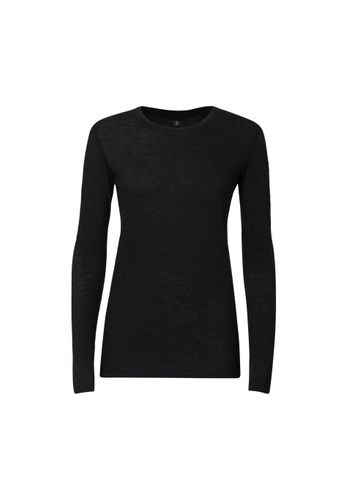 ThokkThokk Woman Longsleeve Black made of 100% organic cotton // Organic and Fair