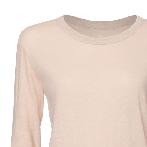 ThokkThokk Woman Longsleeve Faded Nude made of 100% organic cotton // Organic and Fair