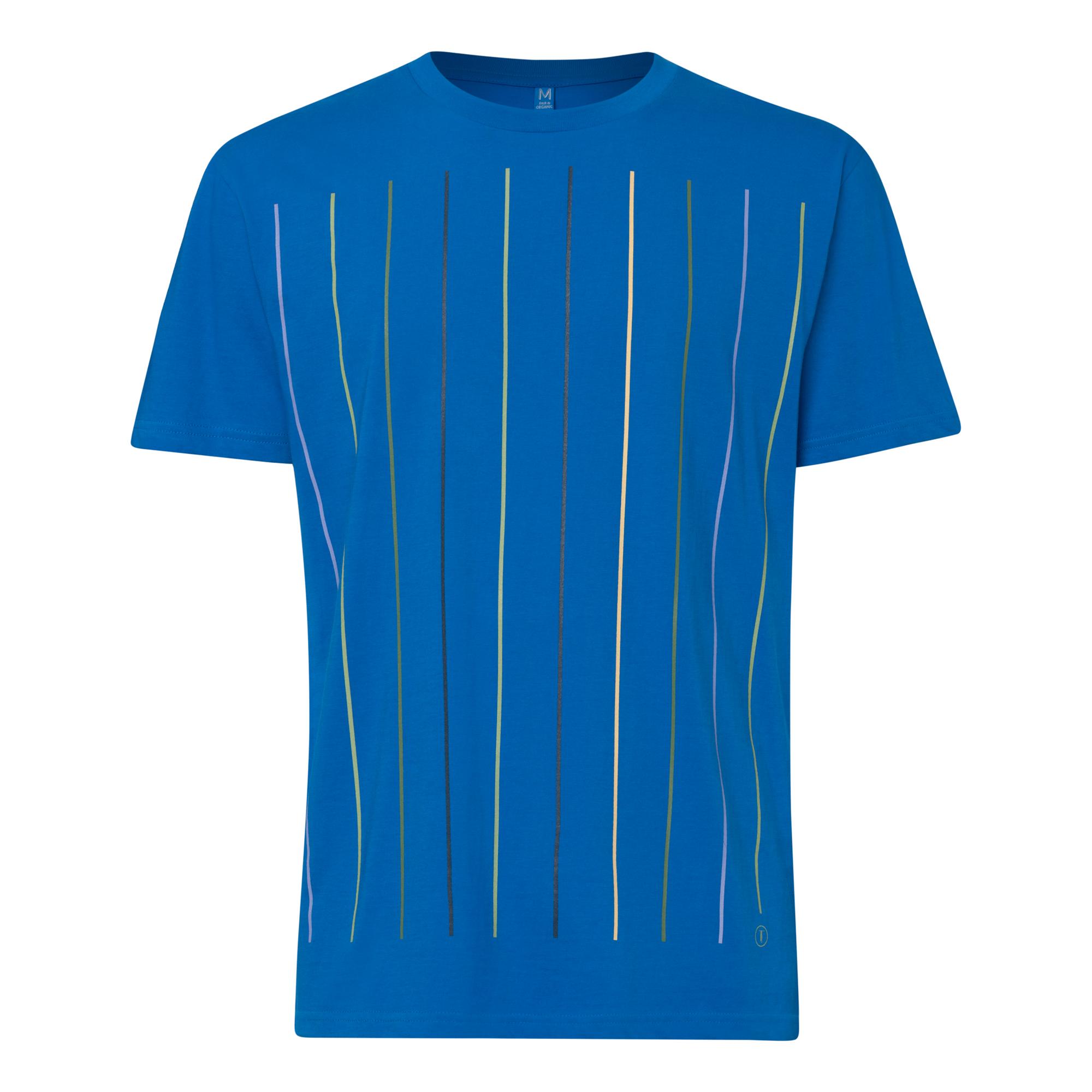 Wall T-Shirt french blue GOTS & Fairtrade