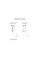 Bild 3 - Terry Mid Socks Dotties Black