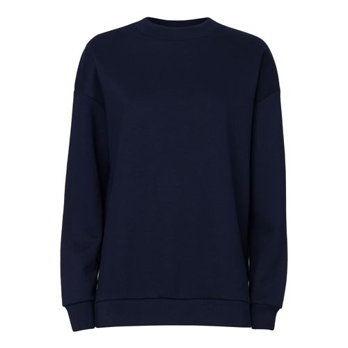 ThokkThokk Women Long Sweatshirt French Navy made of 100% organic cotton // Organic and Fair