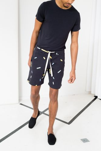 ThokkThokk Throw TT1020 Shorts Man dark grey made of organic cotton // Organic and Fair