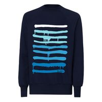 Yackfou Dripline Herren Sweatshirt french navy Bio & Fair