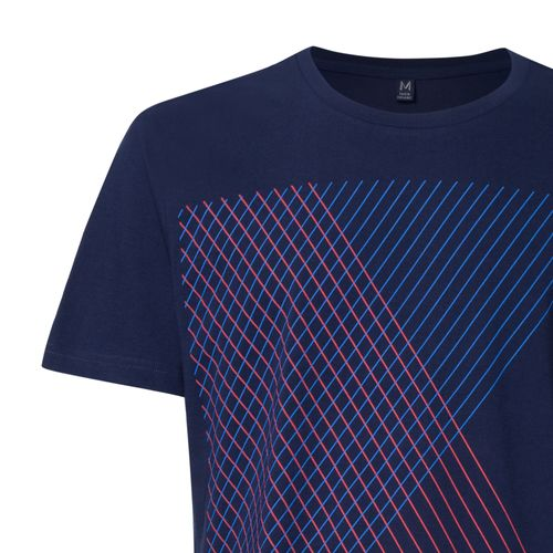 ThokkThokk Spacegrid T-Shirt midnight 2.0 made of 100% organic cotton // GOTS and Fairtrade certified