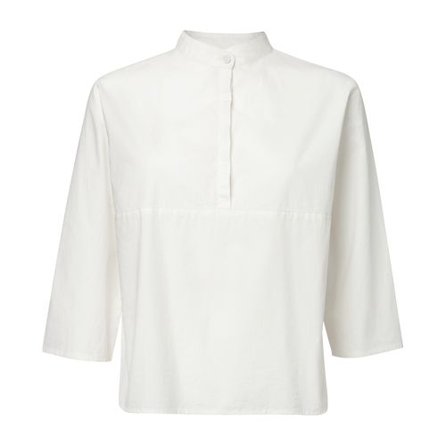 ThokkThokk TT62 Blouse white made of organic cotton // Organic and Fair