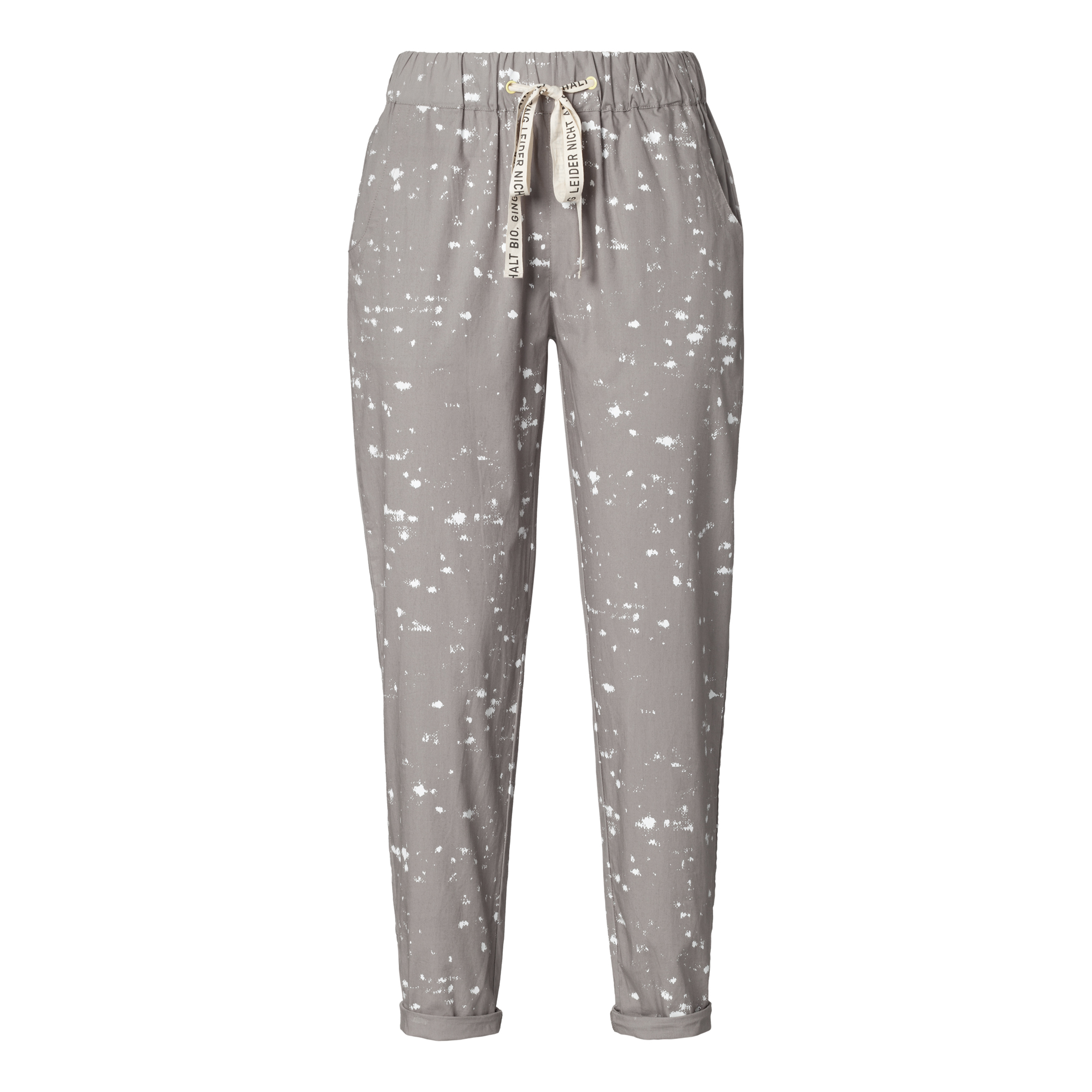 Marble TT61 Summer Pants Woman white/ash Bio & Fair