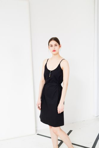 ThokkThokk TT58 Dress Black made of organic cotton // Organic and Fair