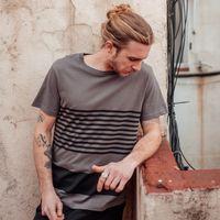 Bild 3 - Crosswalk TT02 T-Shirt black/graphite GOTS & Fairtrade