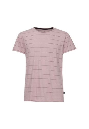 ThokkThokk TT65 T-Shirt Man Rose/Striped made of organic cotton // Organic and Fairtrade certified