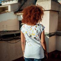 Bild 7 - Blur Cap Sleeve 2.0 white GOTS & Fairtrade