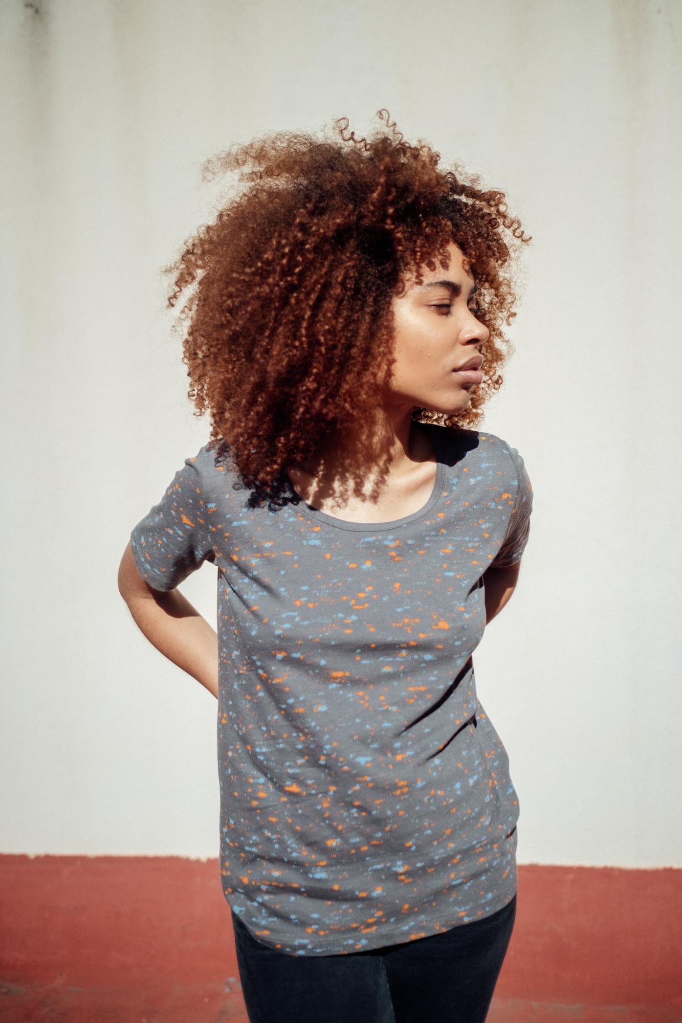 Marble TT64 T-Shirt Graphite