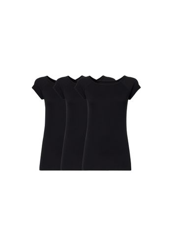 ThokkThokk Women T-Shirt Black 3 Pack Organic Fair