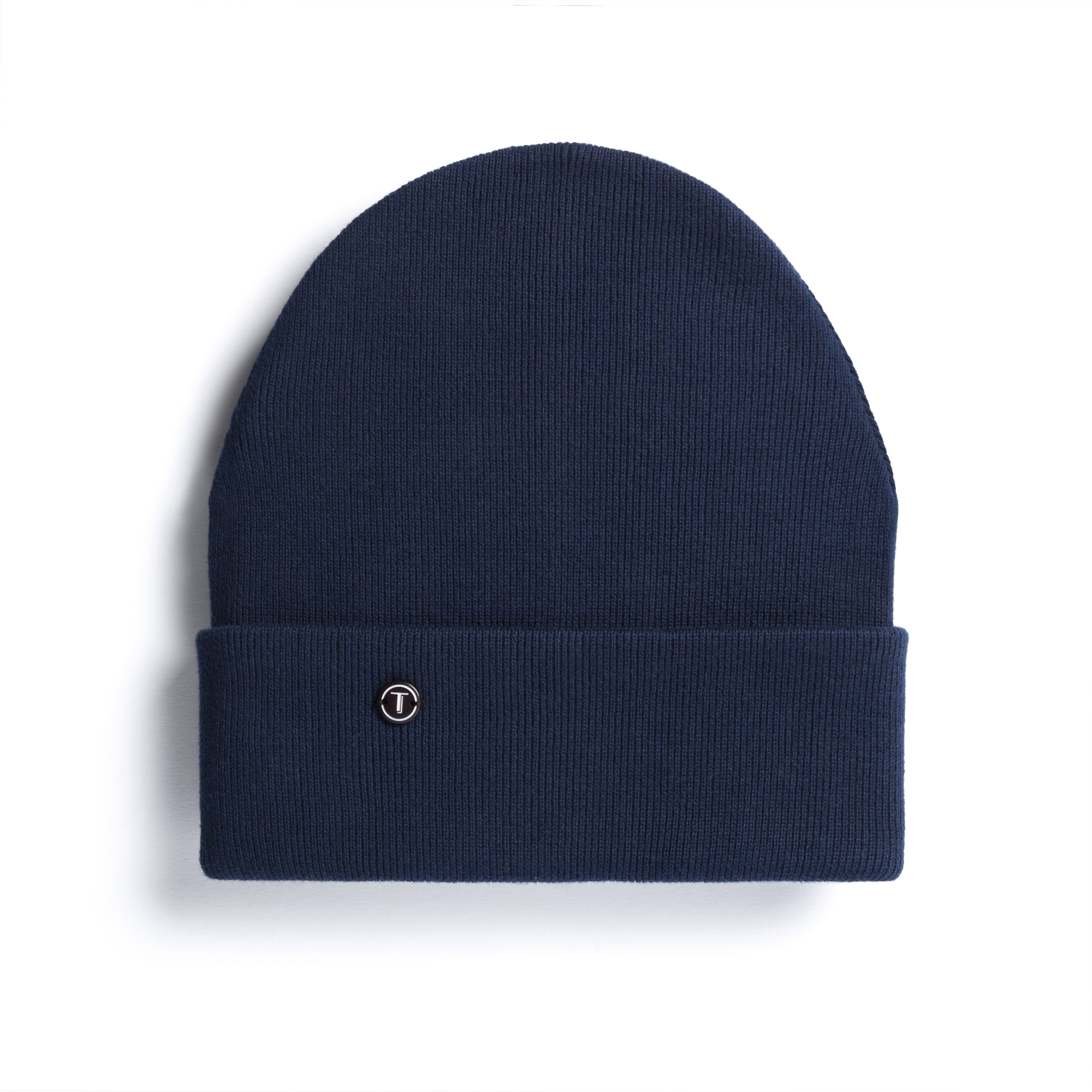 TT101 Folded Beanie Navy Bio & Fair