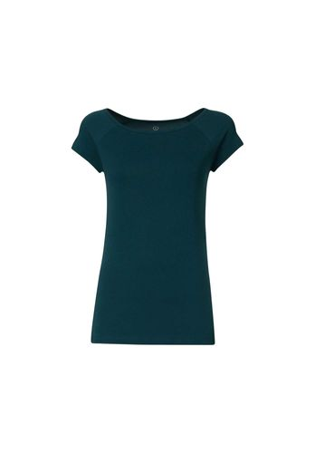 ThokkThokk Women T-Shirt Teal Organic Fair