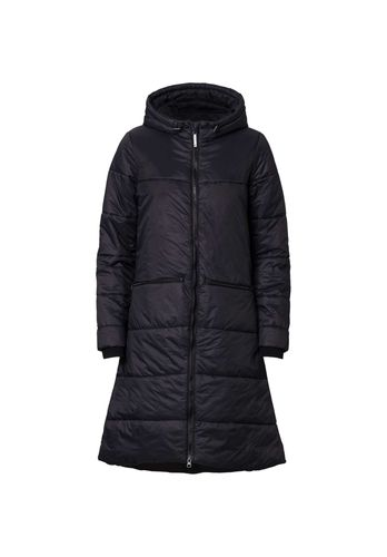 ThokkThokk TT2003 Kapok Coat Woman Black // Sustainable, Fair, Vegan and Recycled