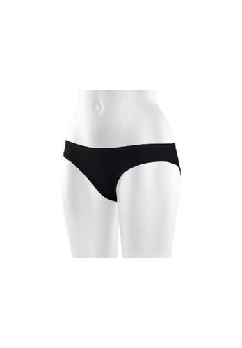ThokkThokk Women Panty Black Organic Fair