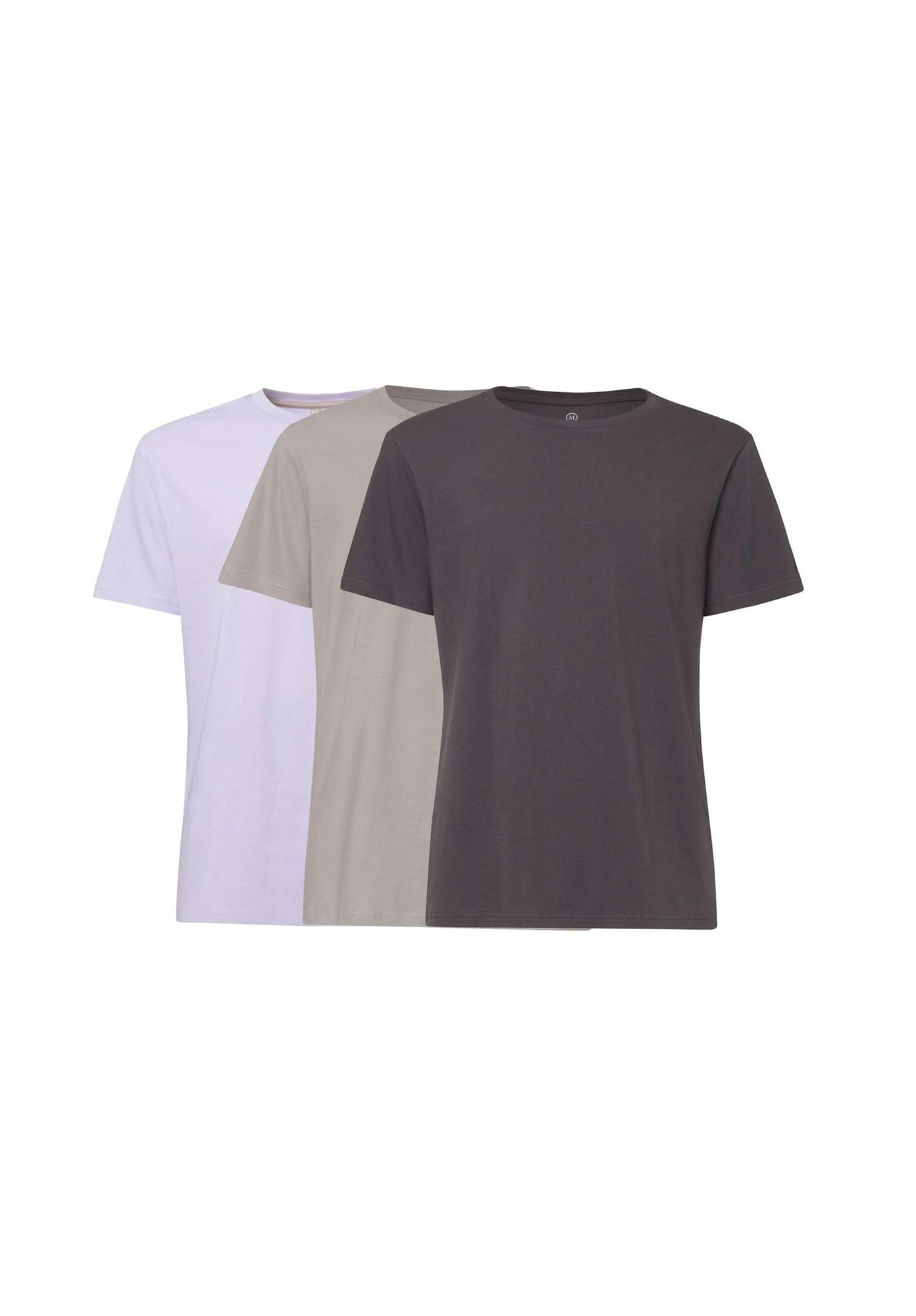 3 Pack TT02 T-Shirt Helium/Dust/Anthracite