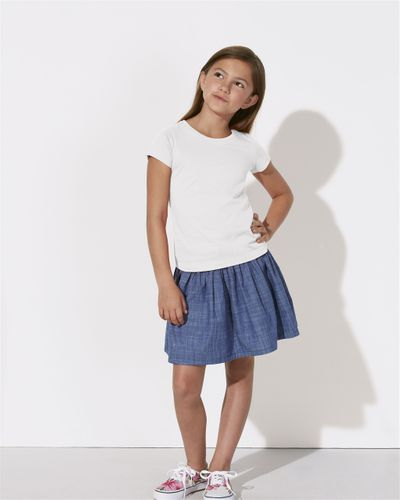 ThokkThokk Girls T-Shirt White made of organic cotton // Organic and Fair