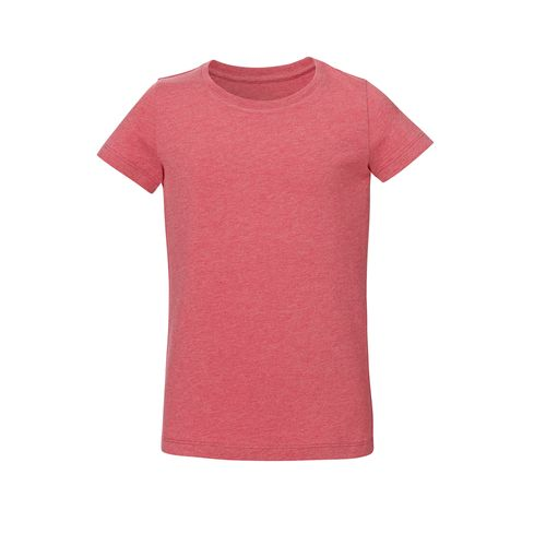 ThokkThokk Girls T-Shirt Light Red made of organic cotton // Organic and Fair