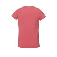 Bild 4 - Girls T-Shirt Heather Cranberry Bio & Fair