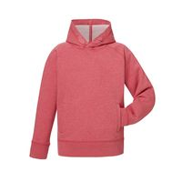 Kids Hoodie Heather Cranberry Bio & Fair