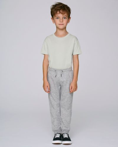 ThokkThokk Kids Sweatpants Light Grey made of organic cotton // Organic and Fair