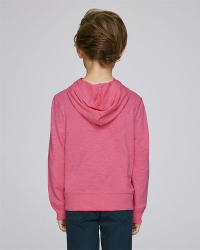 ThokkThokk Kids Hoodie Shirt Pink made of organic cotton // Organic and Fair