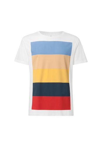 ThokkThokk Colorboard T-Shirt Men white made of organic cotton // Organic and Fair