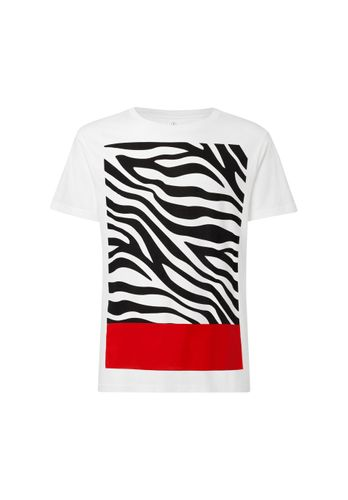 ThokkThokk Zebra18 T-Shirt Men white made of organic cotton // Organic and Fair