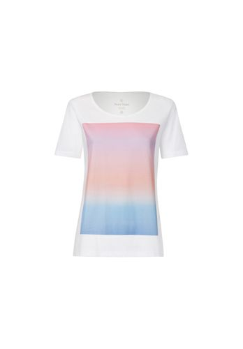 ThokkThokk Damen T-Shirt Colorboard Gradient Weiß Bio Fair