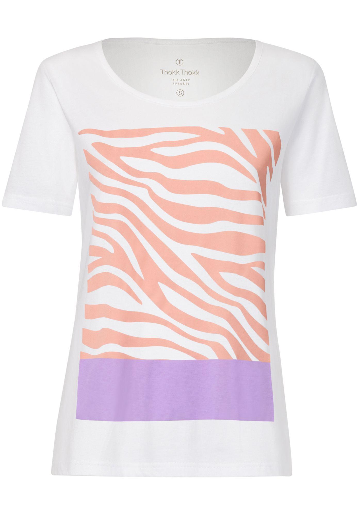 Zebra18 TT64 T-Shirt White