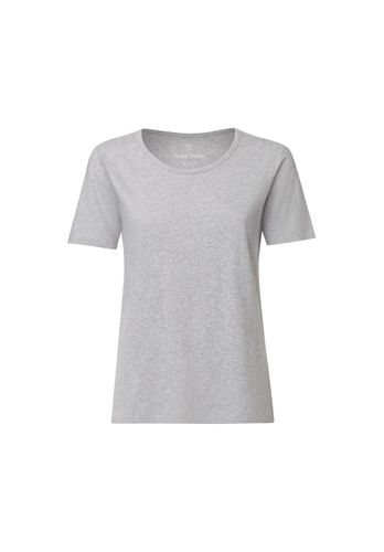 ThokkThokk TT64 T-Shirt Woman Light Grey Melange made of organic cotton // Organic and Fairtrade certified