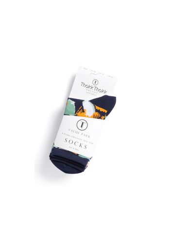 ThokkThokk 3er Pack Socks with organic cotton // Blossom/Sprinkles/Colour Grading // Organic and Fairtrade certified // medium-high