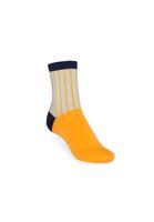 Bild 2 - 3 Pack Mid-Top Socken Vertical/Easy Stripe/Blossom