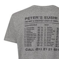 Bild 4 - Peter Phobia Peters Sushi T-Shirt Man black/black marl Bio & Fair