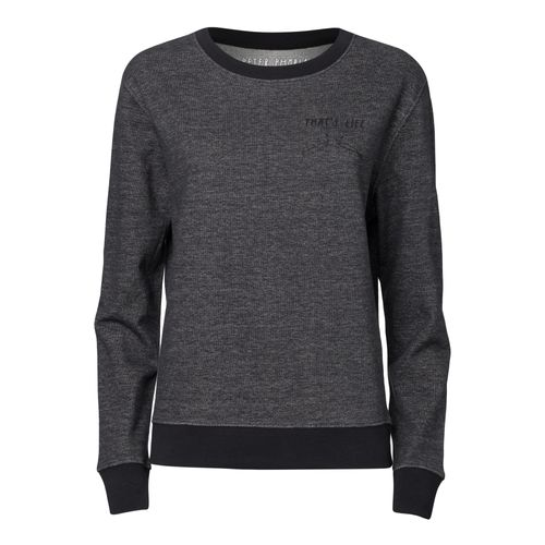 Peter Phobia Damen Sweatshirt That´s Life Schwarz Bio Fair