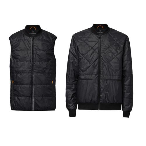 ThokkThokk 2er Pack TT2005 Light Kapok Vest Man Black & TT2004 Light Kapok Blouson Man Black PETA-Approved Vegan