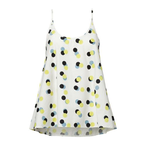 ThokkThokk Triplepolka TT63 Tank Top Woman white made of organic cotton // Organic and Fair