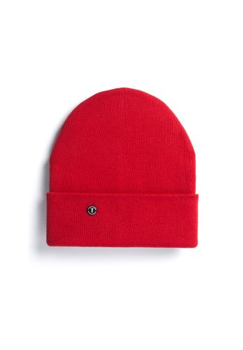 ThokkThokk TT101 Folded Beanie Red made of oranic cotton // Organic and Fair