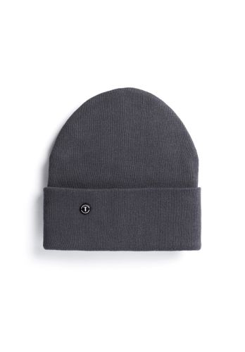 ThokkThokk TT101 Folded Beanie Dark Grey made of oranic cotton // Organic and Fair