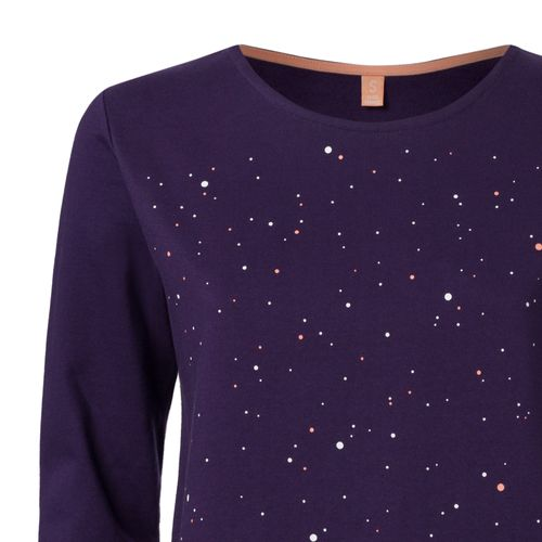 ThokkThokk Nightsky TT1027 Sweater Woman purple made of organic cotton // Organic and Fairtrade certified