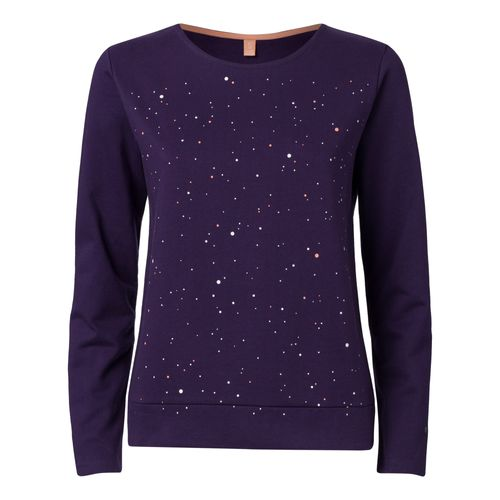 ThokkThokk Damen Sweatshirt Nightsky Violett Bio Fair