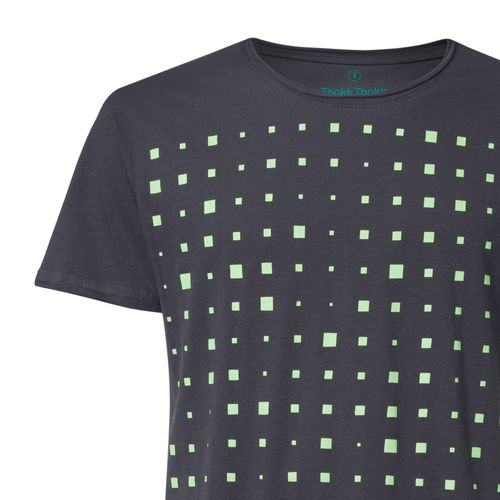 ThokkThokk Drift TT65 T-Shirt Man light green/dark grey made of organic cotton // Organic and Fairtrade certified
