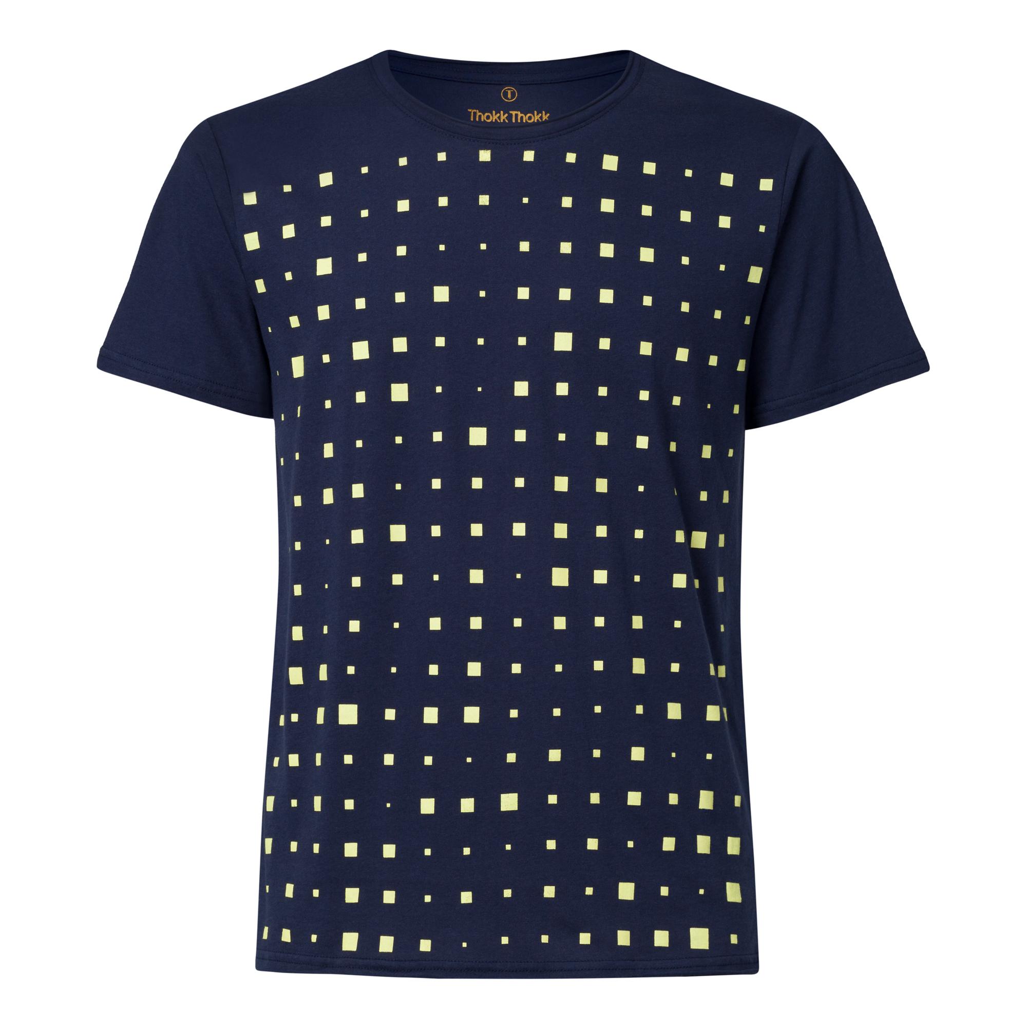 Drift TT65 T-Shirt Man yellow green/midnight GOTS & Fairtrade