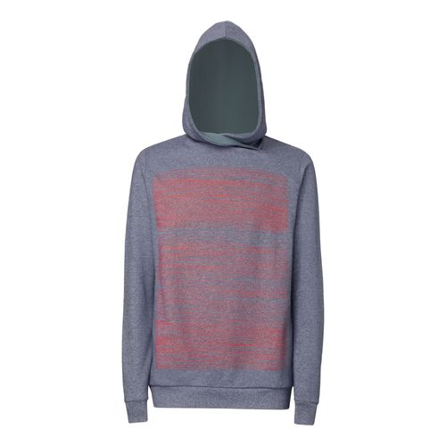 ThokkThokk Strokes TT1025 Hoodie Man red/blue made of organic cotton // Organic and Fairtrade certified