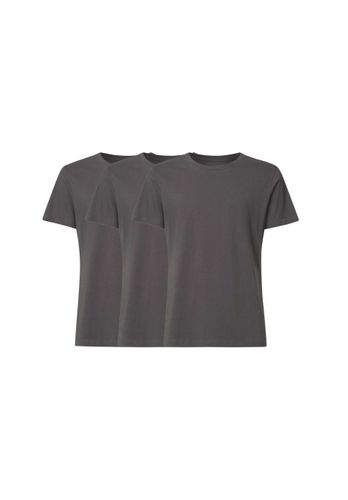 ThokkThokk Men T-Shirt Grey 3 Pack Organic Fair