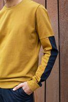 Bild 2 - TT1029 Sweater Brass  TT1029 Sweater Man Black GOTS & Fair