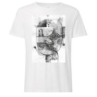 100for10 Nelson Ponce 2 T-Shirt black/white GOTS & Fairtrade
